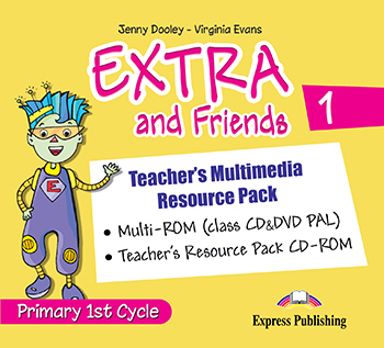 Extra and Friends 1 Primary 1st Cycle - Teacher's Multimedia Resource Pack (PAL)