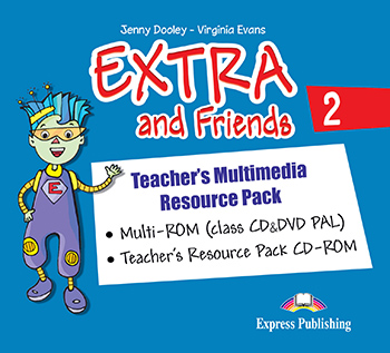 Extra and Friends 2 Primary 1st Cycle - Teacher's Multimedia Resource Pack (PAL)