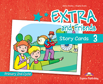 Extra and Friends 3 Primary 2nd Cycle - Story Cards