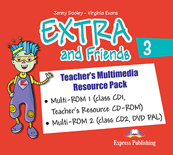 Extra and Friends 3 Primary 2nd Cycle - Teacher's Multimedia Resource Pack (PAL)