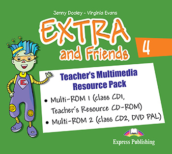 Extra and Friends 4 Primary 2nd Cycle - Teacher's Multimedia Resource Pack (PAL)
