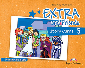 Extra and Friends 5 Primary 3rd Cycle - Story Cards
