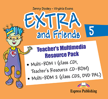 Extra and Friends 5 Primary 3rd Cycle - Teacher's Multimedia Resource Pack (PAL)