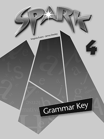 Spark 4 (Monstertrackers) - Grammar Book Key
