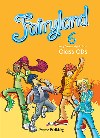 Fairyland 6 - Class Audio CDs (set of 4)