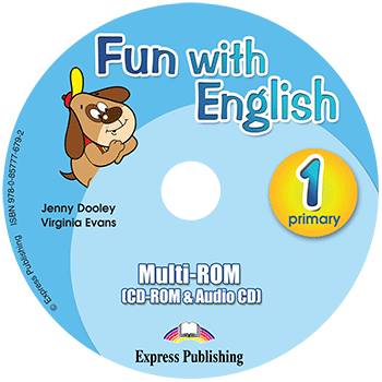 Fun with English 1 Primary - multi-ROM (CD-ROM & Audio CD )