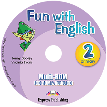 Fun with English 2 Primary - multi-ROM (CD-ROM & Audio CD )