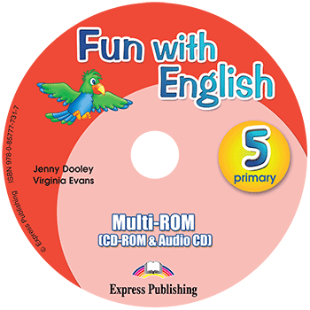 Fun with English 5 Primary - multi-ROM (CD-ROM & Audio CD )