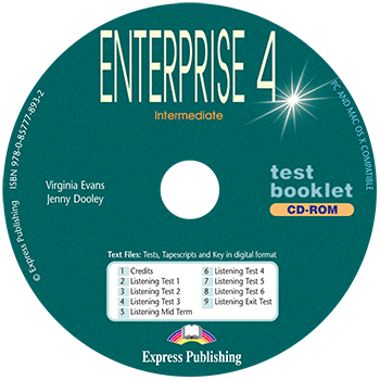 Enterprise 4 - Test Booklet CD-ROM