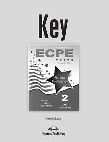ECPE Tests Michigan Proficiency 2 - Key