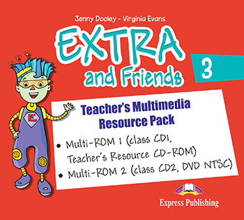 Extra and Friends 3 Primary Course - Teacher's Multimedia Resource Pack (NTSC)