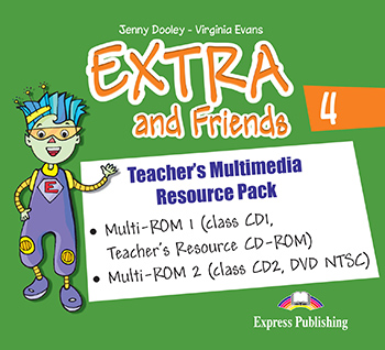 Extra and Friends 4 Primary Course - Teacher's Multimedia Resource Pack (NTSC)