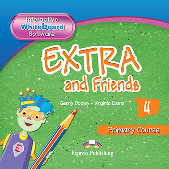 Extra and Friends 4 Primary Course - Interactive Whiteboard Software