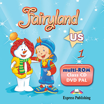 Fairyland 1 US - Multi-ROM (Class Audio CD / DVD Video PAL)