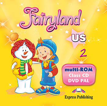 Fairyland 2 US - Multi-ROM (Class Audio CD / DVD Video PAL)