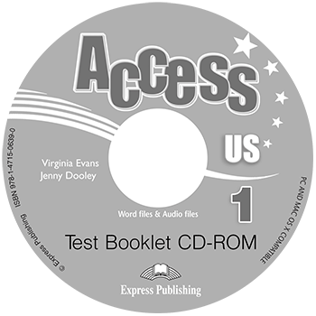 Access US 1b - Test Booklet CD-ROM