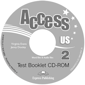 Access US 2b - Test Booklet CD-ROM