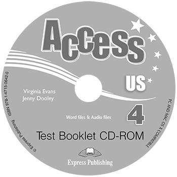 Access US 4b - Test Booklet CD-ROM