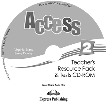 Access 2 - Teacher's Resource Pack & Tests CD-ROM