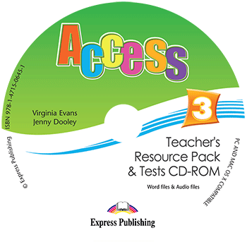 Access 3 - Teacher's Resource Pack & Tests CD-ROM