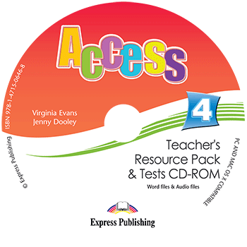 Access 4 - Teacher's Resource Pack & Tests CD-ROM