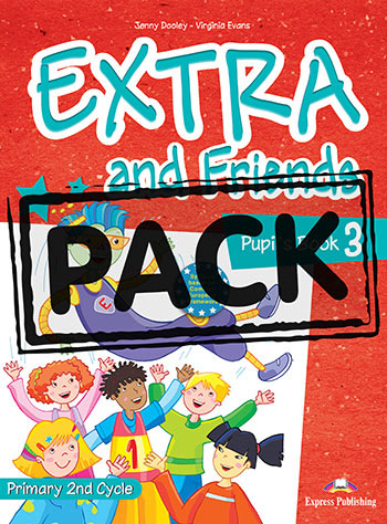 Extra and Friends 3 Primary Course - Pupil's Book (+ ieBook)