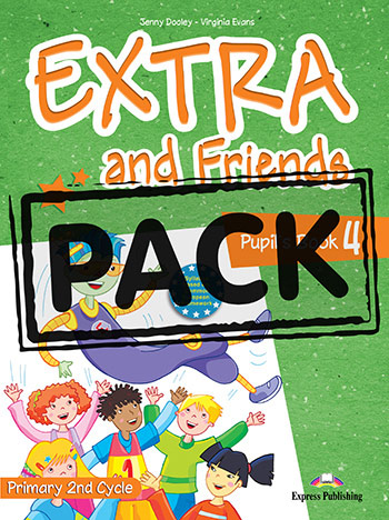 Extra and Friends 4 Primary Course - Pupil's Book (+ ieBook)