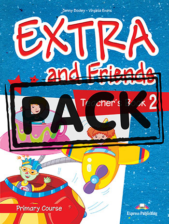 Extra and Friends 2 Primary Course - Teacher's Book (interleaved with Posters)