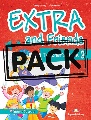 Extra and Friends 3 Primary Course - Teacher's Book (interleaved with Posters)