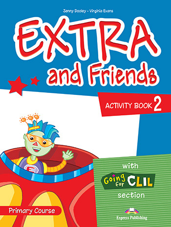 Extra and Friends 2 Primary Course - Activity Book