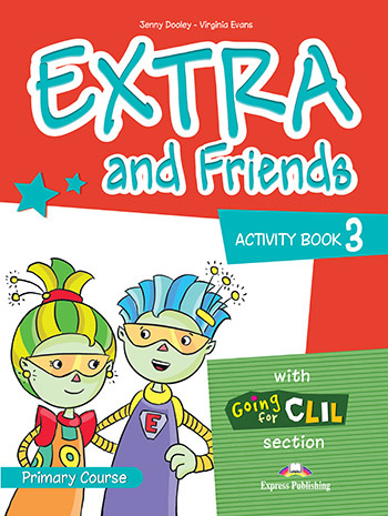 Extra and Friends 3 Primary Course - Activity Book