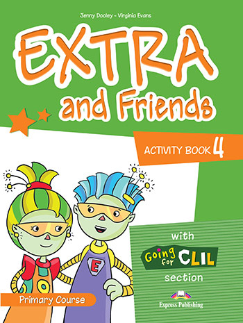 Extra and Friends 4 Primary Course - Activity Book