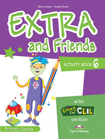 Extra and Friends 6 Primary Course - Activity Book
