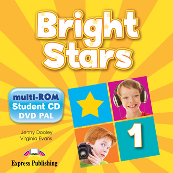 Bright Stars 1 - multi-ROM (Pupil's Audio CD / DVD Video PAL)