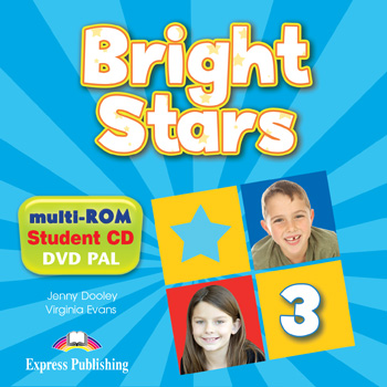Bright Stars 3 - multi-ROM (Pupil's Audio CD / DVD Video PAL)