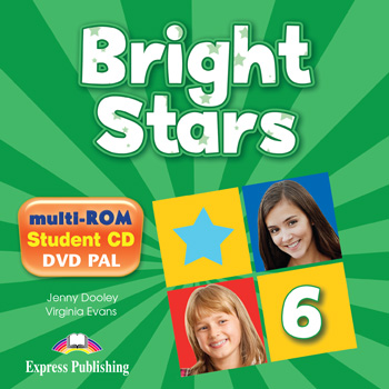 Bright Stars 6 - multi-ROM (Pupil's Audio CD / DVD Video PAL)