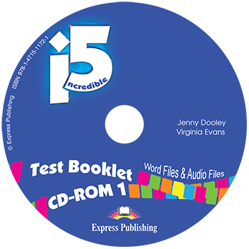 Incredible 5 1 - Test Booklet CD-ROM