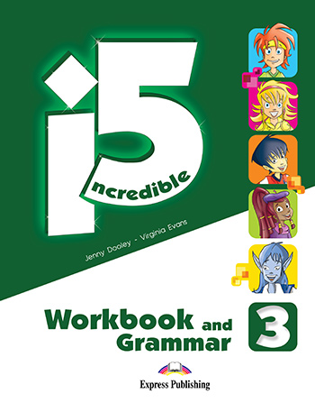 Incredible 5 3 - Workbook & Grammar Book (with Digibooks App.)