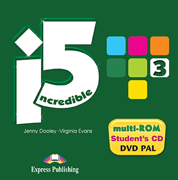 Incredible 5 3 - multi-ROM (Student Audio CD / DVD Video PAL)