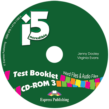 Incredible 5 3 - Test Booklet CD-ROM