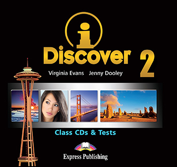 iDiscover 2 - Class Audio CDs & Tests (set of 2)