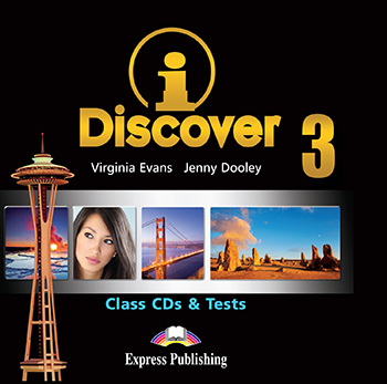 iDiscover 3 - Class Audio CDs & Tests (set of 2)