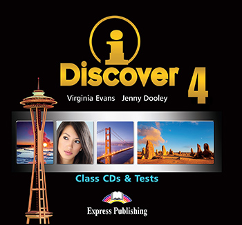 iDiscover 4 - Class Audio CDs & Tests (set of 2)