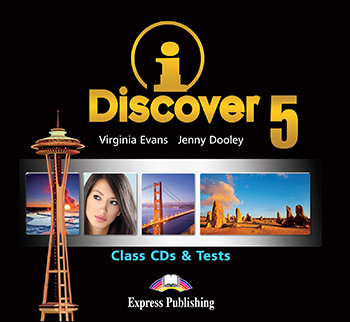 iDiscover 5 - Class Audio CDs & Tests (set of 2)