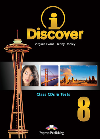 iDiscover 8 - Class Audio CDs & Tests (set of 3)