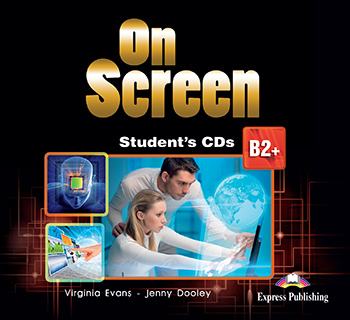 On Screen B2+ - Student's Audio CDs (set of 2)