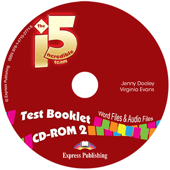 Incredible 5 Team 2 - Test Booklet CD-ROM
