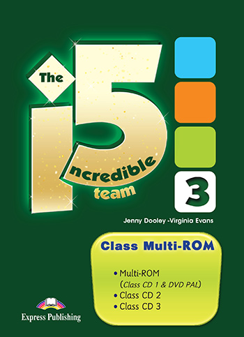 Incredible 5 Team 3 - Class multi-ROM (PAL)