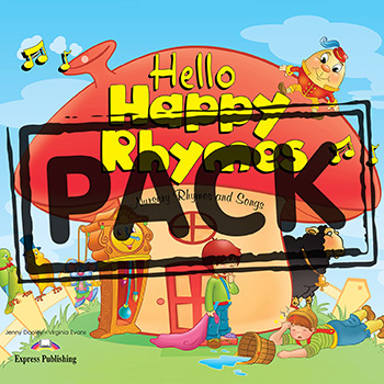 Hello Happy Rhymes - Big Story Book Pack