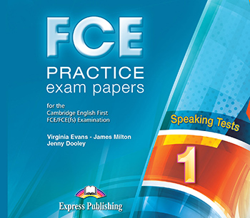 FCE Practice Exam Papers 1 - Speaking Audio CDs (set of 2)